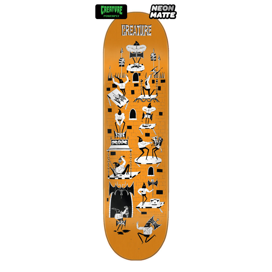 Creature Skateboards Free For All 8.0