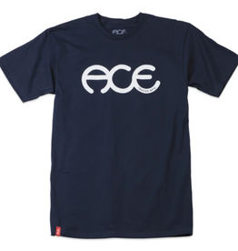 Ace Skateboard Truck MFG. Rings Navy Tee