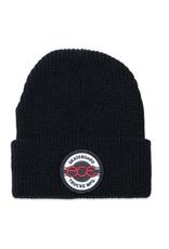Ace Skateboard Truck MFG. Seal Logo Beanie Black