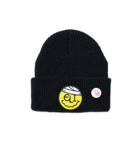 Ace Skateboard Truck MFG. Eli Black Beanie