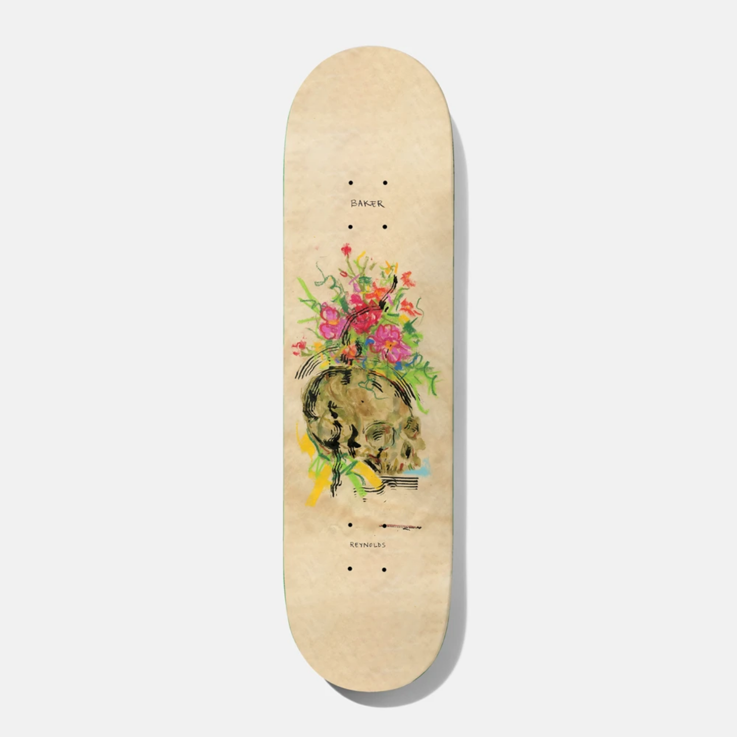 Baker Skateboards AR Face Up To Mine 8.5""