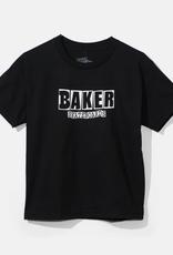 Baker Skateboards Brand Logo Black Youth Tee