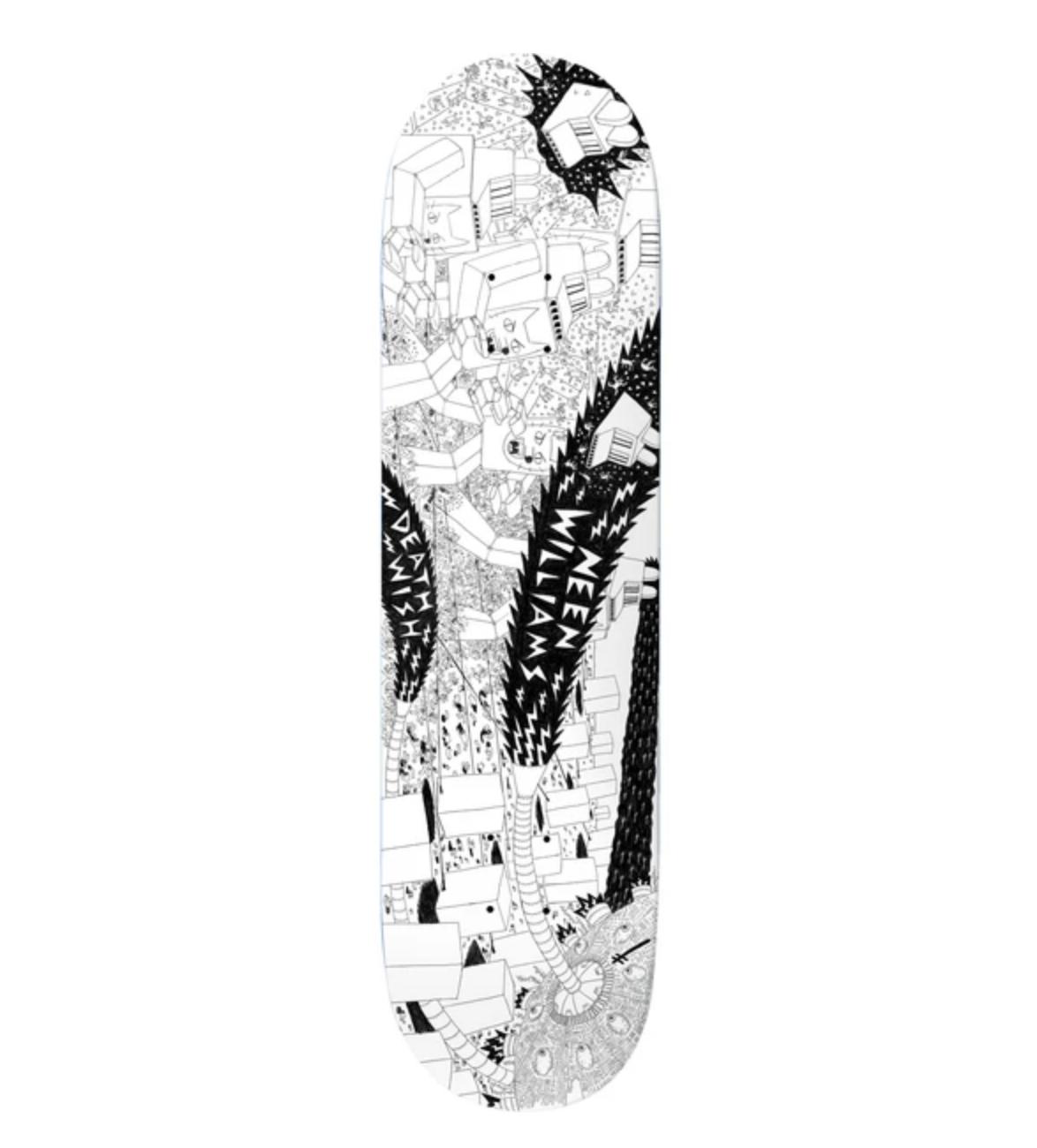 """Deathwish Skateboards NW Death War 3000 8.38"""""""