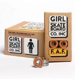 Girl Skateboard Company F.A.F. Bearings