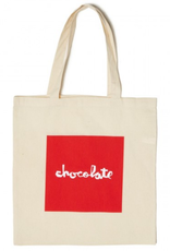 Chocolate Skateboards Chocolate Red Square Canvas Tote