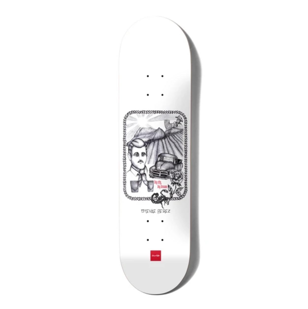 "Chocolate Skateboards Perez Big City Big Dreams 8.125"""