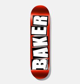 """Baker Skateboards Brand Logo Red Foil 8.25"""""""
