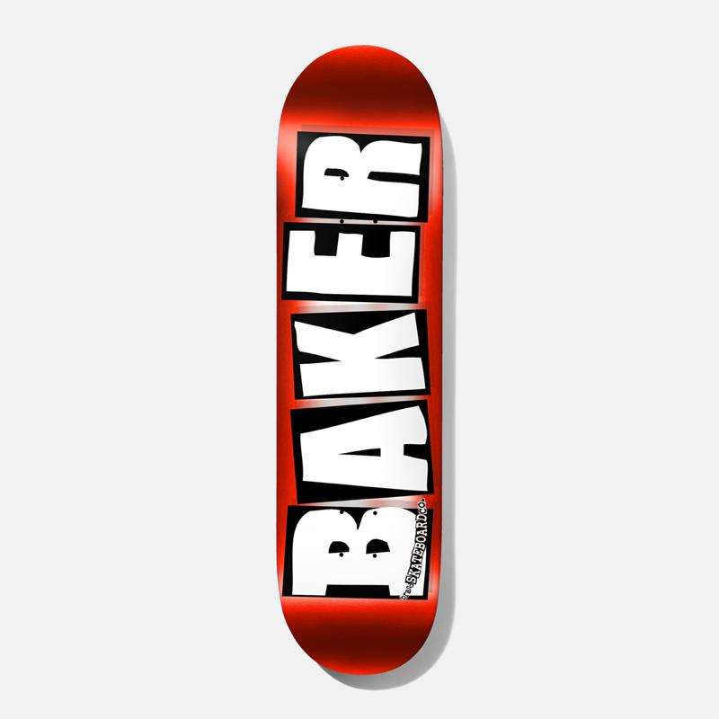 """Baker Skateboards Brand Logo Red Foil 8.0"""""""