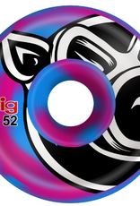 Pig Wheels Pig Head Swirl Blue/Pink C-Line 52mm