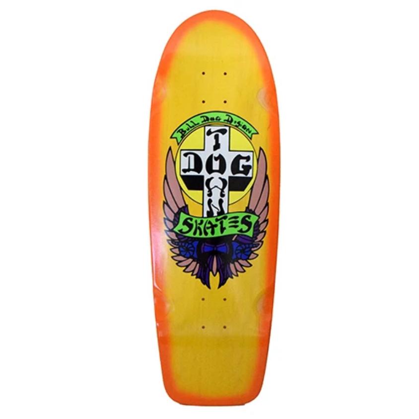 "Dogtown OG Bull Dog Rider 10"" Yellow Stain/Orange Fade"