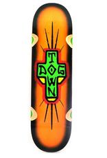 "Dogtown Spray Cross Loose Trucks 8.75"" Bright Orange/Black Fade"