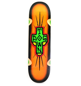 "Dogtown Spray Cross Loose Trucks 8.75"" Bright Orange/Black Fade"