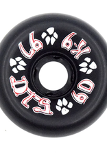 Dogtown K-9 80's 97a Black 60mm