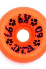 Dogtown K-9 80's 97a Neon Orange 60mm
