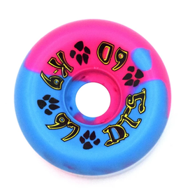 Dogtown K-9 80's 97a Pink/Blue Swirl 60mm