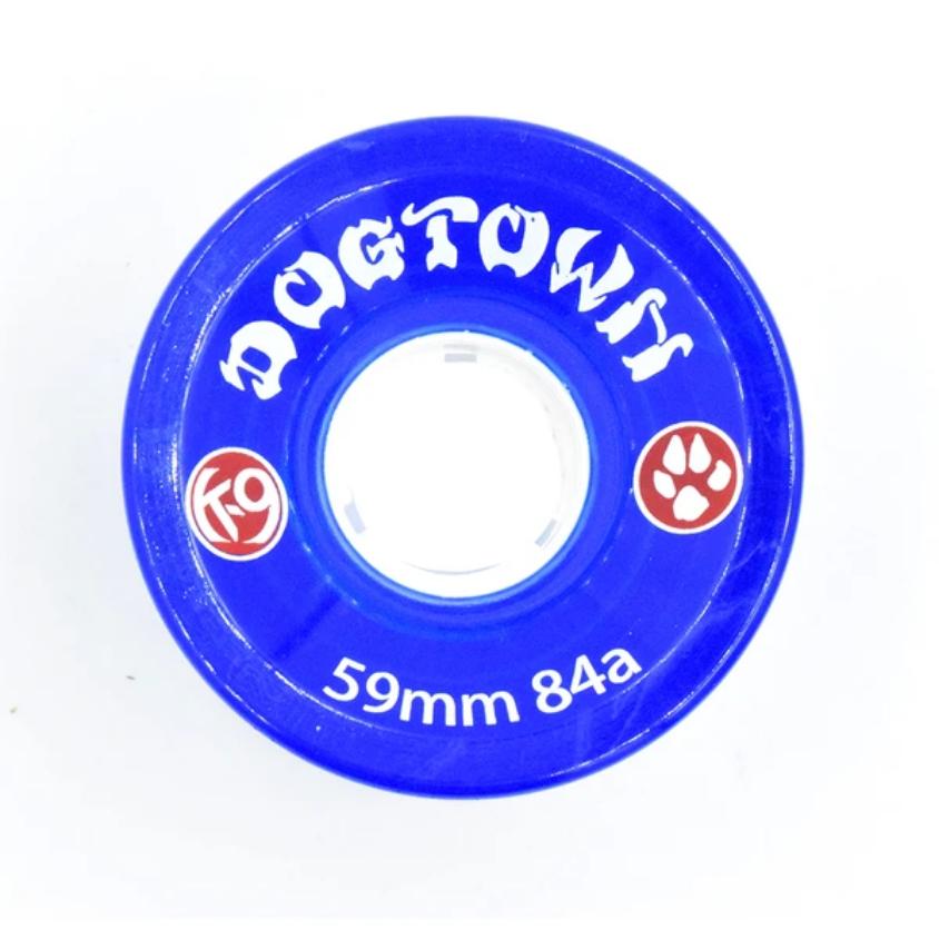 Dogtown K-9 Cruiser 84a Clear Blue 59mm