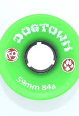 Dogtown K-9 Cruiser 84a Neon Green 59mm