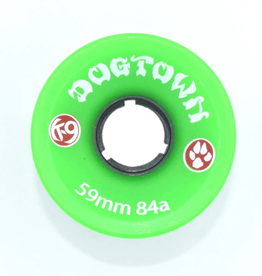 Dogtown K-9 Cruiser 84a Neon Green 59mm