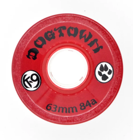 Dogtown K-9 Cruiser 84a Clear Red 63mm