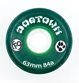 Dogtown K-9 Cruiser 84a Clear Green 63mm