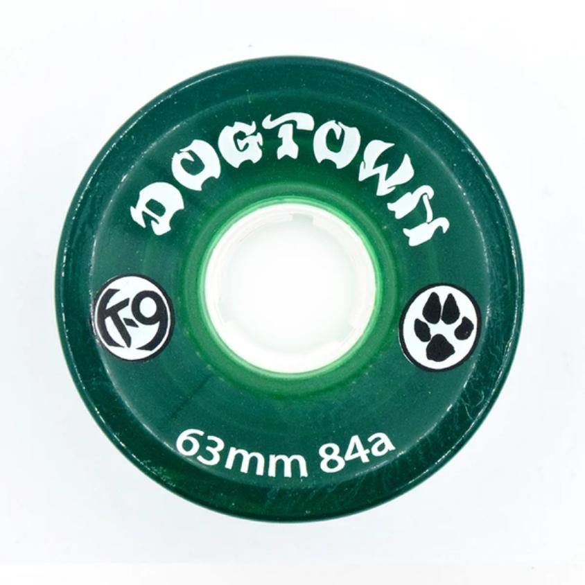 Dogtown K-9 Cruiser 84a Clear Green 63mm