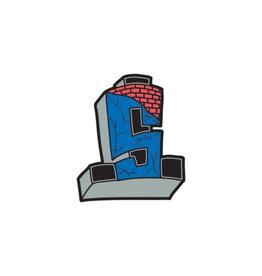 Suicidal Cross Logo Enamel Pin