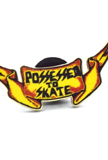 Possessed To Skate Wings Enamel Pin