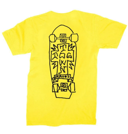 Dogtown Mark Gonzales Art 2 Yellow/Black Tee