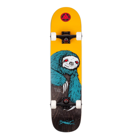 """Welcome Skateboards Sloth Gold/Black Stain 7.75"""" Complete"""