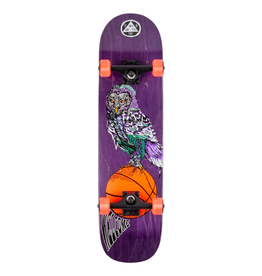 """Welcome Skateboards Hooter Shooter Purple 8.0"""" Complete"""