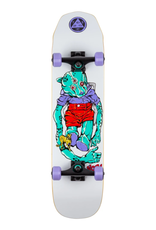 "Welcome Skateboards Nora Teddy White 7.75"" Complete"