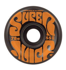 OJ Wheels Mini Super Juice Black 55mm