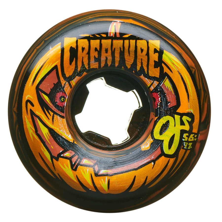 OJ Wheels Pumpkin Head Bloodsucker 97a 56