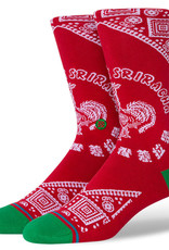 Stance Socks Sriracha Red Medium