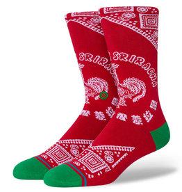 Stance Socks Sriracha Red Medium