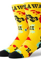 Stance Socks Hawaii Chain Oblow Yellow Sock M
