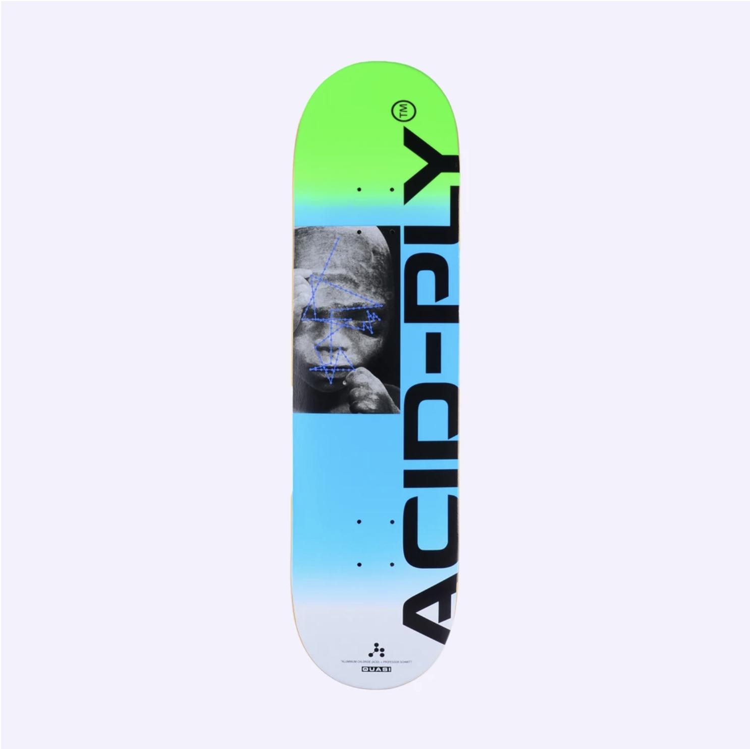 Quasi Skateboards Chembaby Acid-Ply 8.375 Blue
