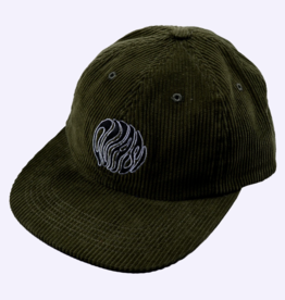 Quasi Skateboards Orb 6-Panel Olive