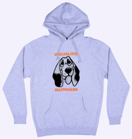 Quasi Skateboards Happiness Hood Heather Grey