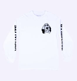 Quasi Skateboards Happiness L/S White