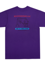Sci-Fi Fantasy Dance Tee Sport Purple