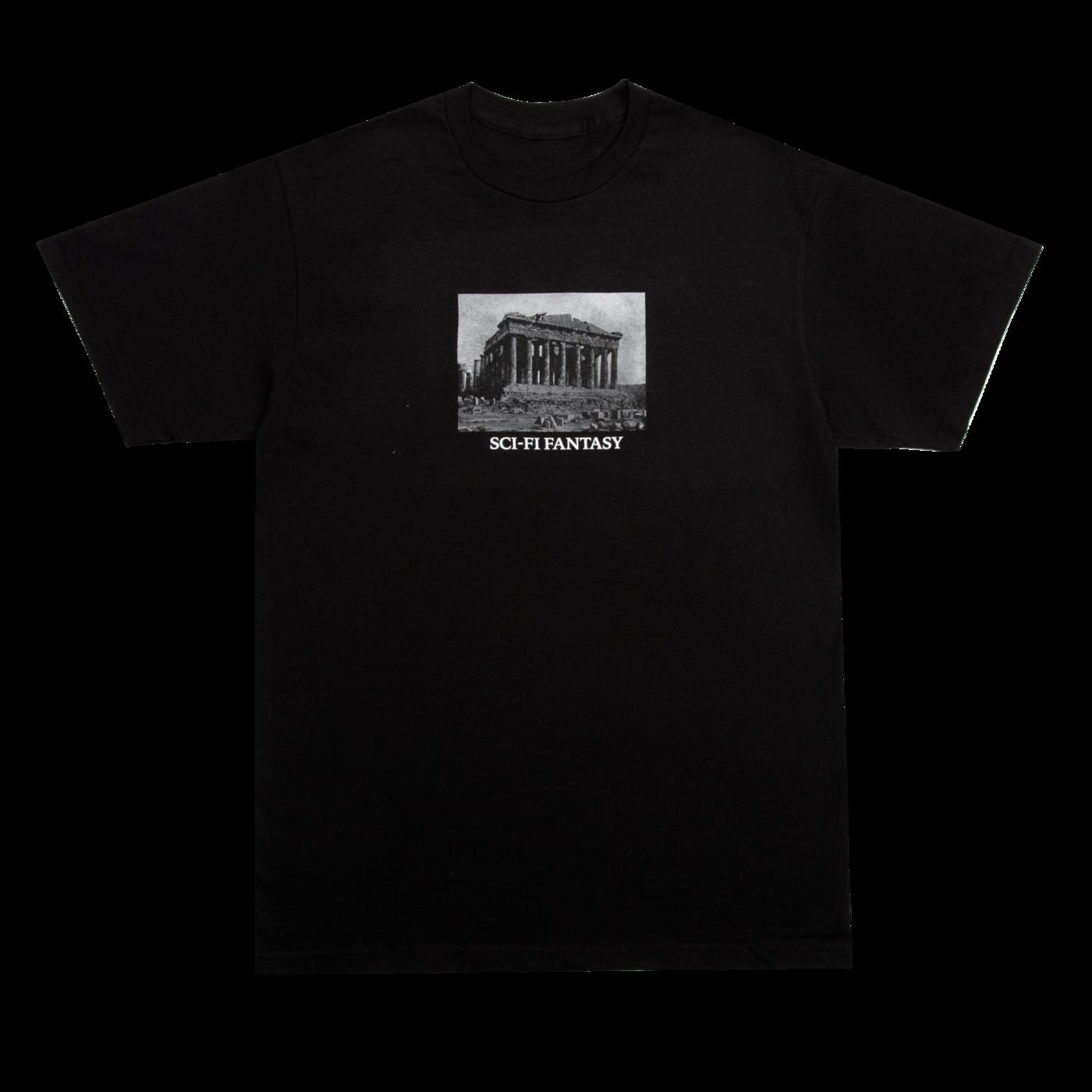 Sci-Fi Fantasy Parthenon Black