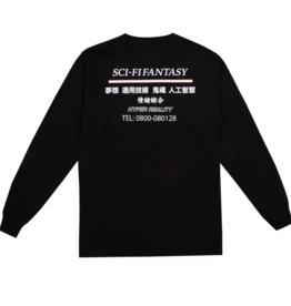 Sci-Fi Fantasy Industrial L/S Black