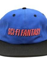Sci-Fi Fantasy Fast logo Hat Royal/Black