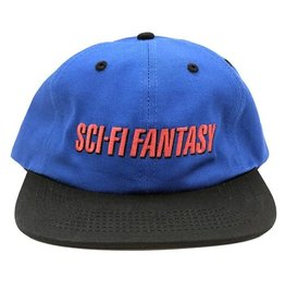 Sci-Fi Fantasy Fast logo Hat Royal/Black