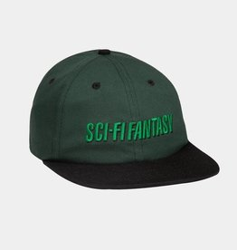 Sci-Fi Fantasy Fast logo Hat Forest/Black