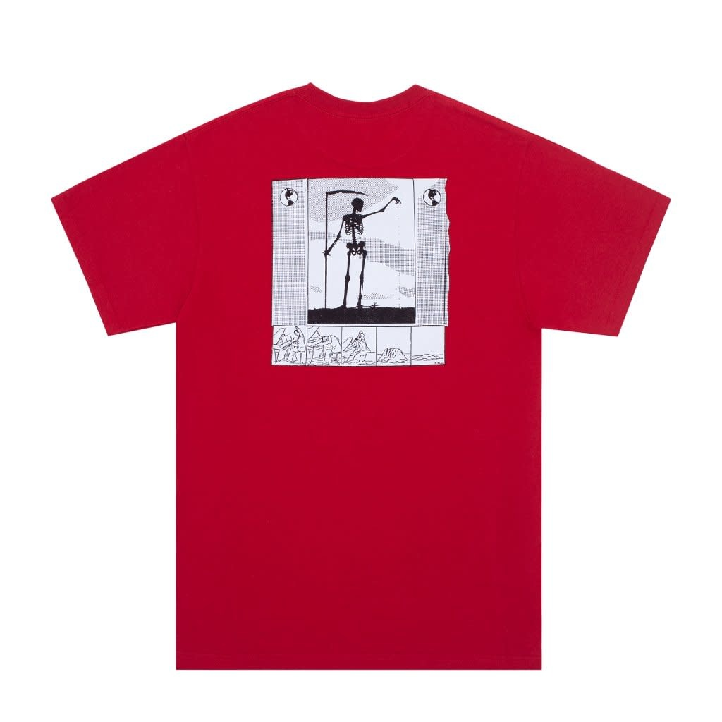 Fucking Awesome Grim Reaper Tee Red