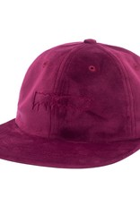 Fucking Awesome Outline Drip Velvet Snap Maroon
