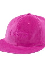 Fucking Awesome Outline Drip Velvet Snap Pink
