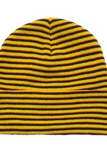 Fucking Awesome Striped Cuff Beanie Navy/Orange